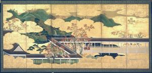 Image of Genji Palace, Left Screen