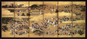 Image of Kasuga Festival, Whole Screen