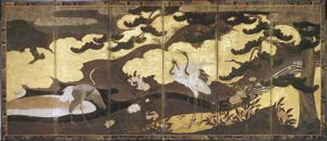 Image of Birds of Four Seasons, Right Screen