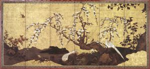 Image of Birds and Flowers of Four Seasons Screen