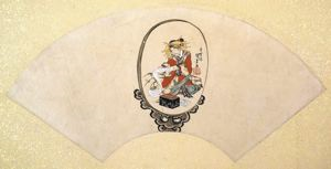 Image of Album of Twelve Months (Geisha in Mirror)