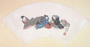 Image of Album of Twelve Months (Kunisada 03)