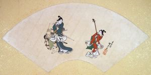 Image of Album of Twelve Months (Geisha and Samurai)