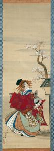 Image of Beauties of Edo , Flowers