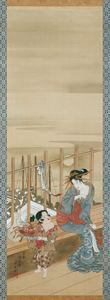 Image of Beauties of Edo , Moon