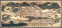Image of Daimyo's Procession 6 Panel Screen